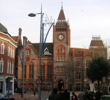 Reading, Old Town Hall, Blagrave Street, Berkshire © Robin Sones